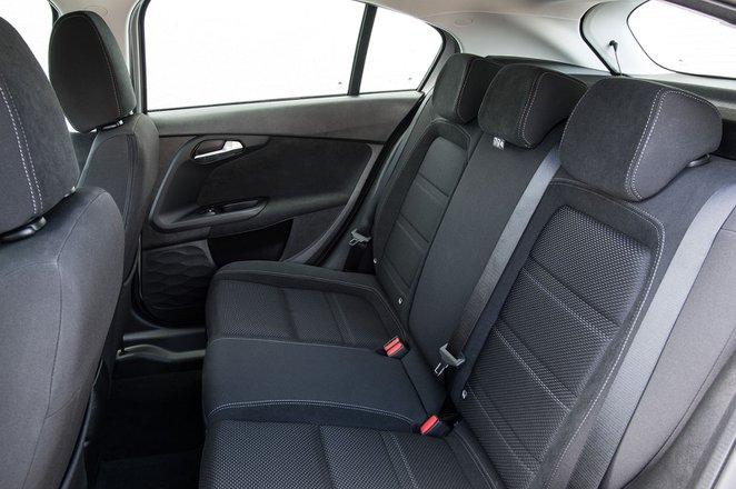 Fiat Tipo RHD rear seats