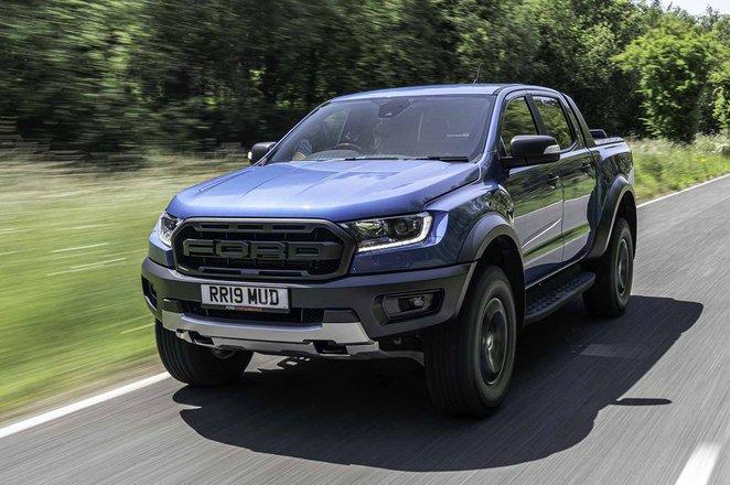 Ford Ranger Raptor 2019 RHD front tracking