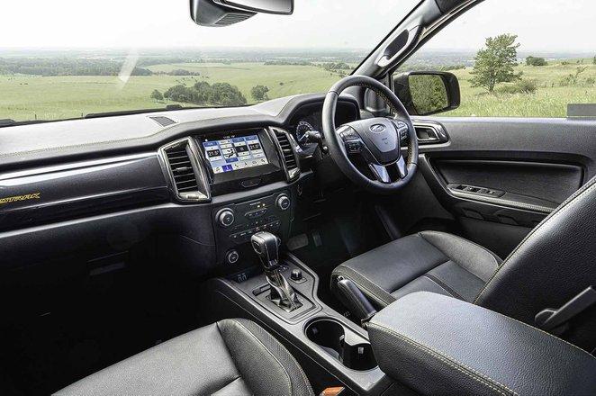 Ford Ranger Raptor 2019 RHD dashboard