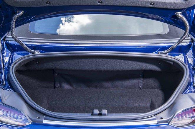 Mercedes-AMG GT Roadster 2019 RHD boot open