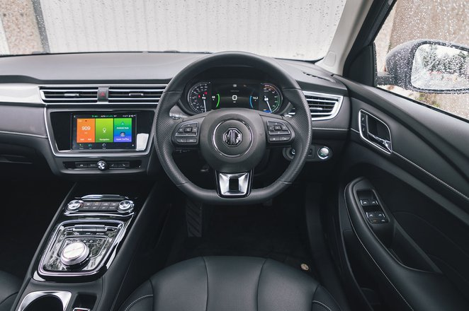 MG 5 2020 dashboard