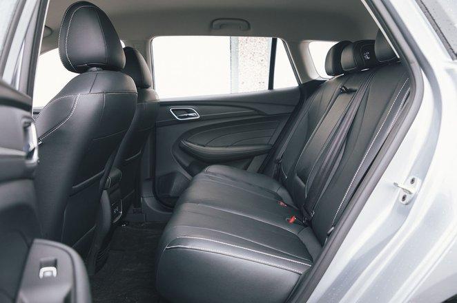 MG 5 2020 rear seats