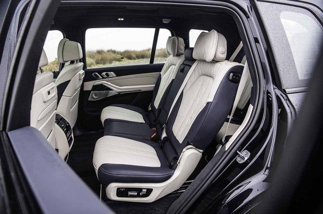 BMW X7 2019 RHD rear seats