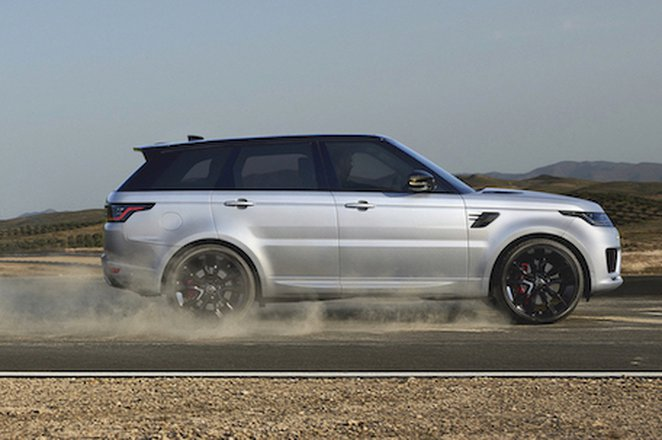 Land Rover Range Rover Sport 2021 right tracking