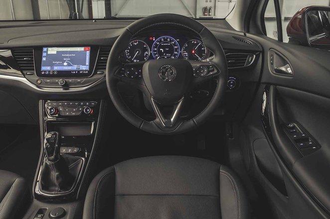 Vauxhall Astra 2019 facelift RHD dashboard