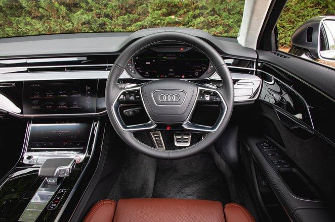 Audi S8 2020 dashboard
