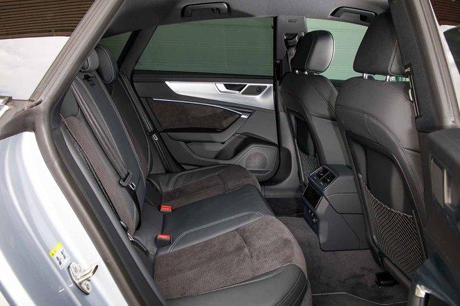 Audi A7 2019 RHD rear seats