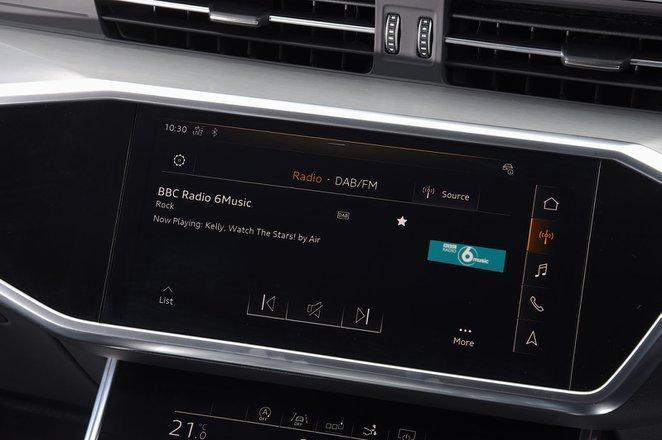 Audi A7 2019 RHD infotainment