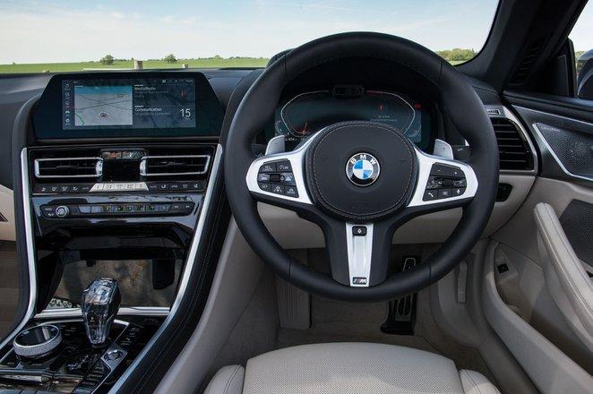 BMW 8 Series Convertible 2019 RHD dashboard
