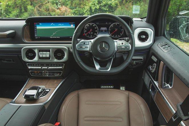 Mercedes G-Class 2021 RHD dashboard