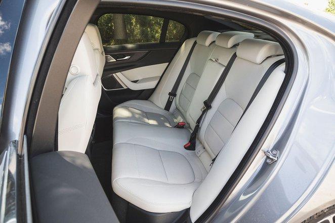 Jaguar XE 2019 RHD rear seats