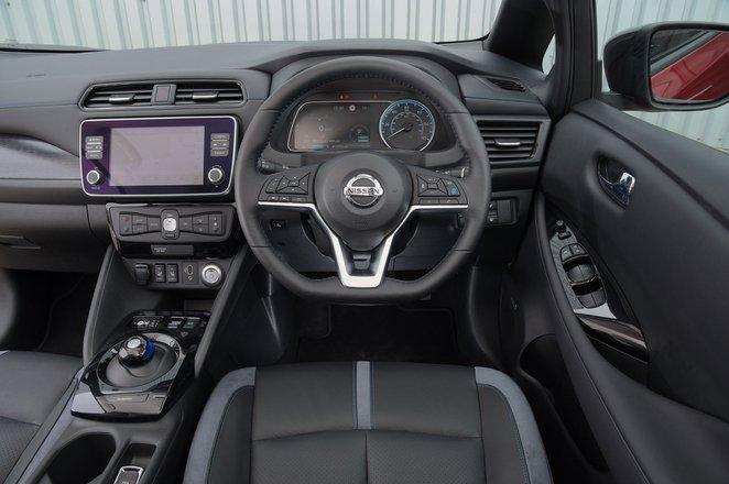 Nissan Leaf 2019 RHD dashboard