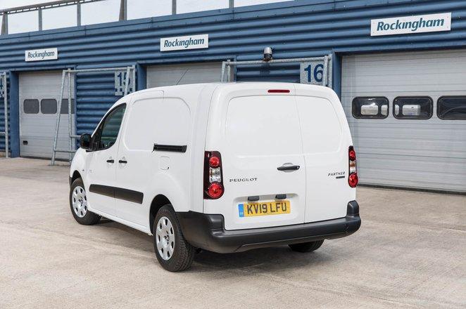 Peugeot Partner Electric 2019 rear