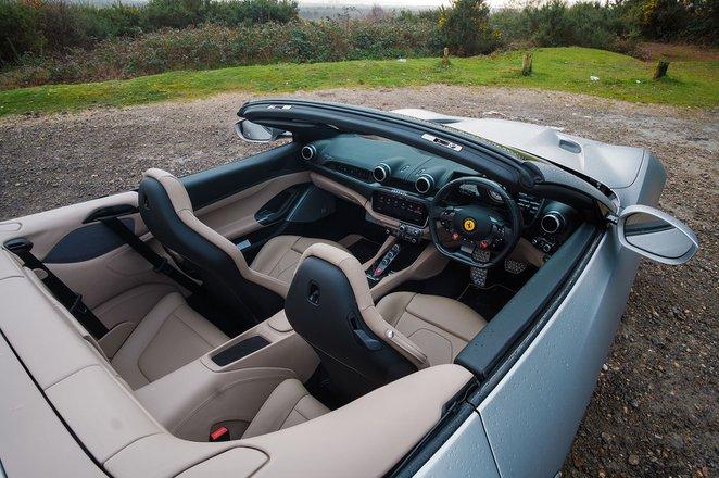 Ferrari Portofino 2019 RHD front seats