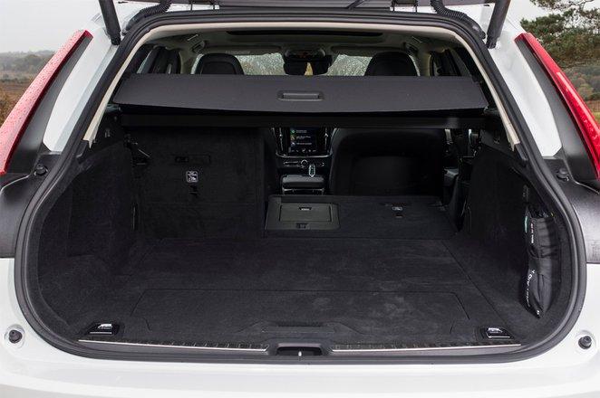 Volvo V90 2018 RHD boot open
