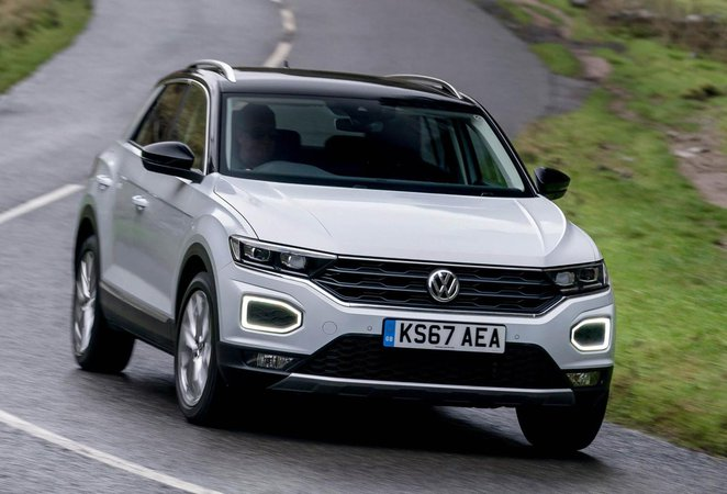 volkswagen t roc 1 0 tsi s 5dr 2018 review what car. Black Bedroom Furniture Sets. Home Design Ideas