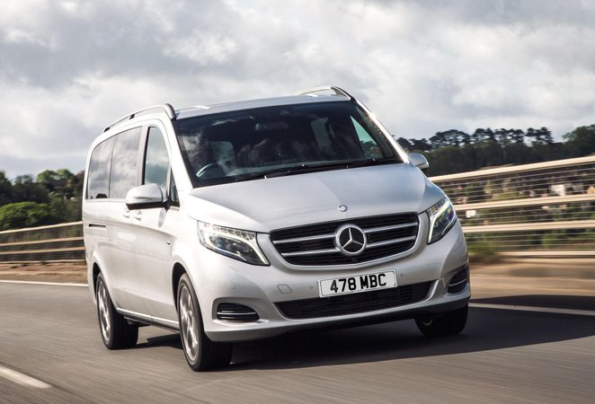 Mercedes Benz V Class Boot Space Size Seats What Car