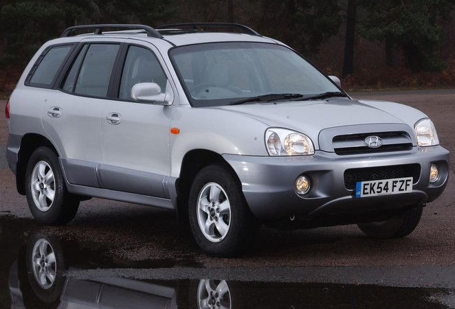Hyundai Santa Fe 4x4 (01 - 06)