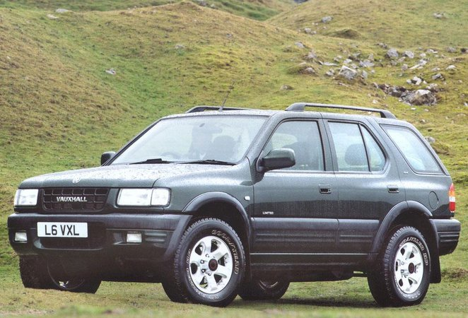 Vauxhall Frontera 4x4 (98 - 04)