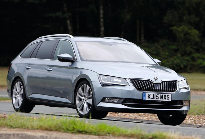 Used Skoda Superb Estate 16-present