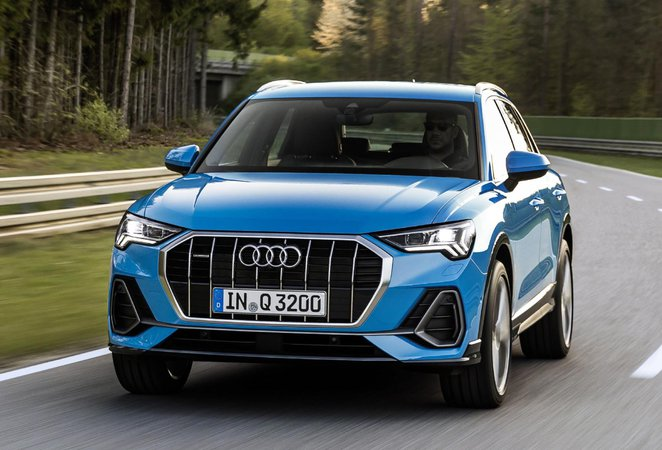 Audi Q3 front
