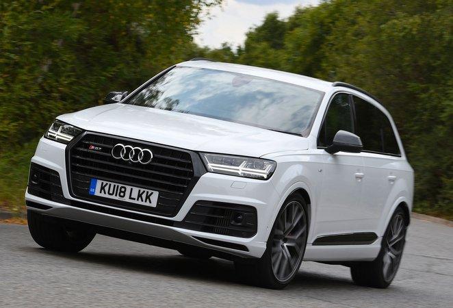 Audi SQ7 front