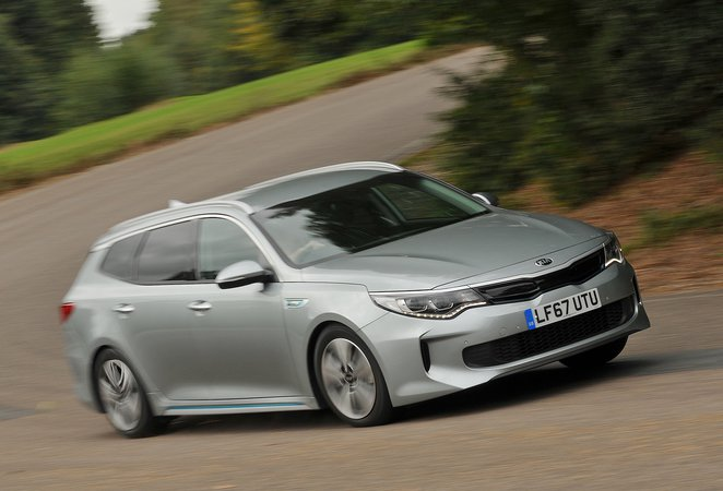 Used Kia Optima Sportswagon PHEV 2017-present