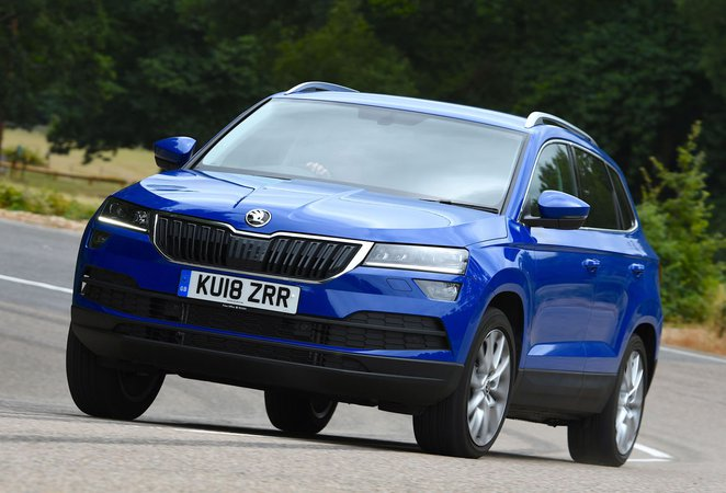 skoda karoq 1 5 tsi se l 5dr 2019 review what car. Black Bedroom Furniture Sets. Home Design Ideas
