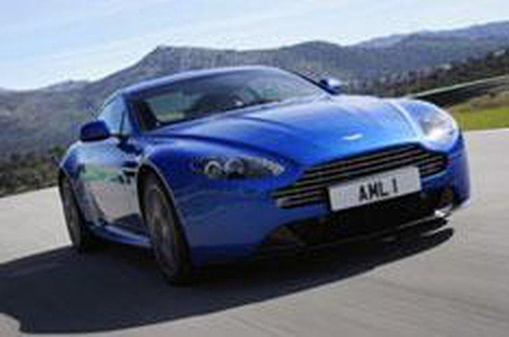 Aston Martin Vantage S driven
