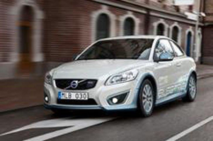 All-electric Volvo C30 driven