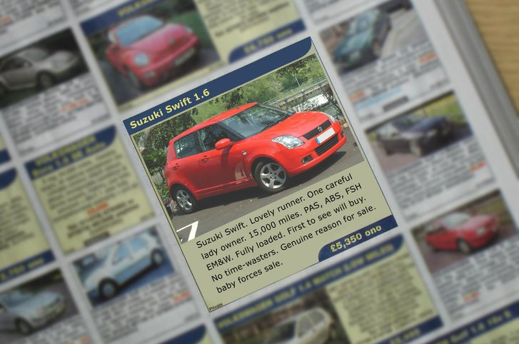How to write the perfect car advert