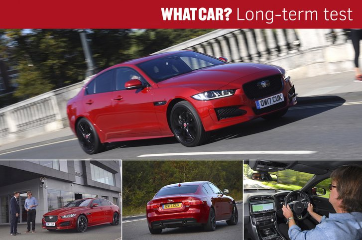 Used Jaguar XE long-term test