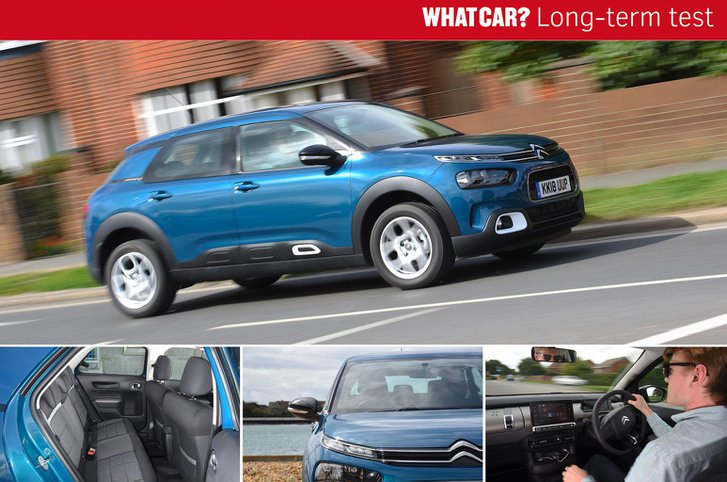 Citroen C4 Cactus long-term compilation