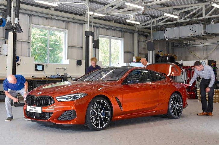 2018 BMW 8 Series reader test team
