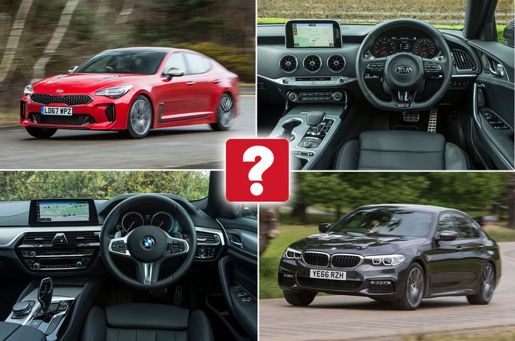New Kia Stinger vs used BMW 5 Series: which is best?