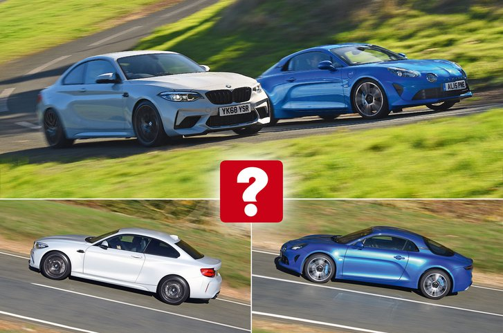 Alpine BMW twin test