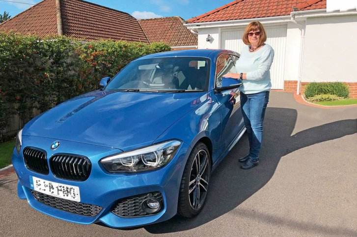 Julie and BMW 1 Series