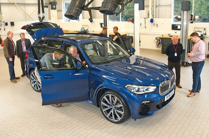 2018 BMW X5 reader test team