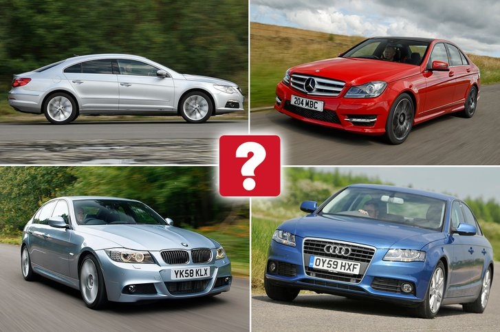 Top ten used executive cars for under £10,000