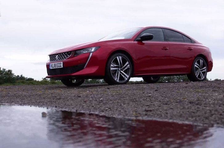 The all-new Peugeot 508 Fastback – a stylish coupé profile and hatchback-style boot with a premium technology-packed interior