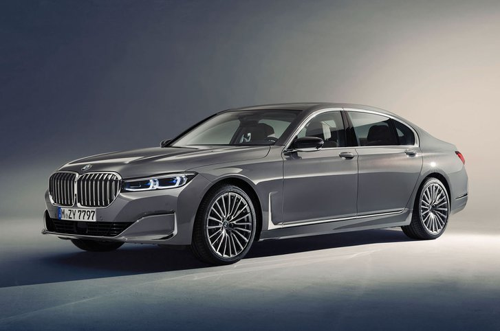 2019 BMW 7 Series front
