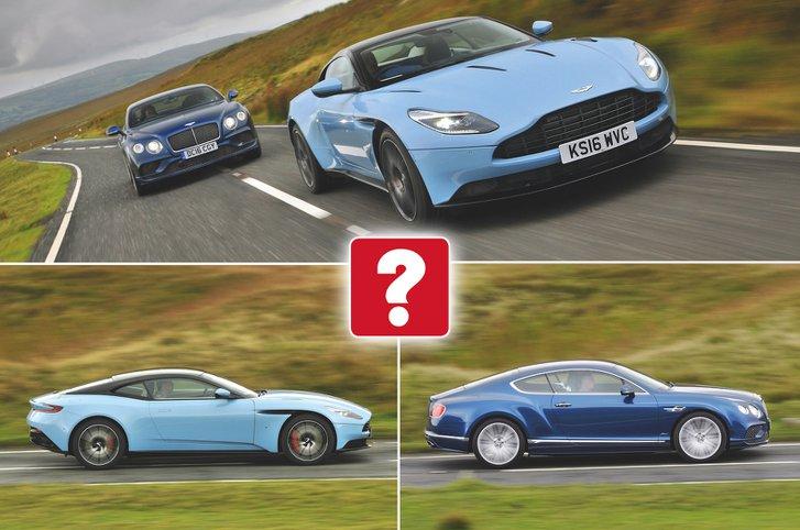 Used test: Aston Martin DB11 vs Bentley Continental GT