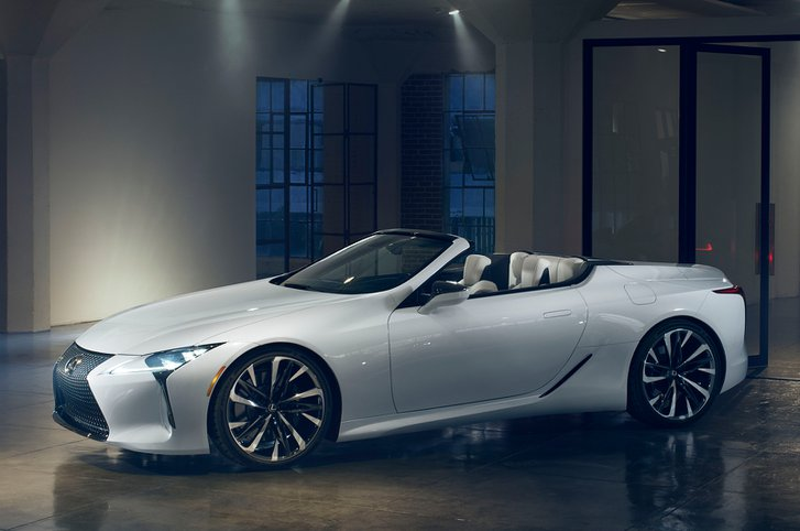 Lexus LC Convertible front