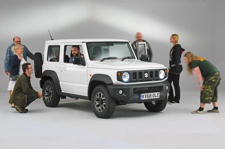 Suzuki Jimny reader test