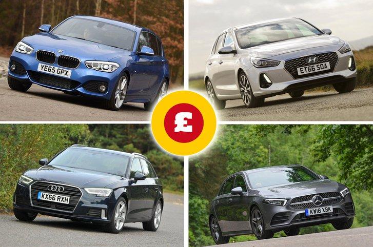 Audi A3, BMW 1 Series, Mercedes-Benz A-Class, Hyundai i30