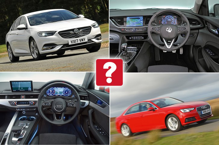 New Vauxhall Insignia Grand Sport vs used Audi A4: which is best?
