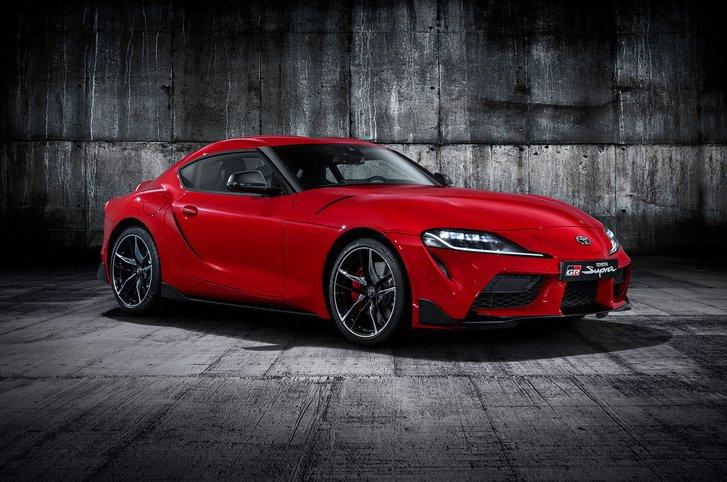 Toyota Supra front