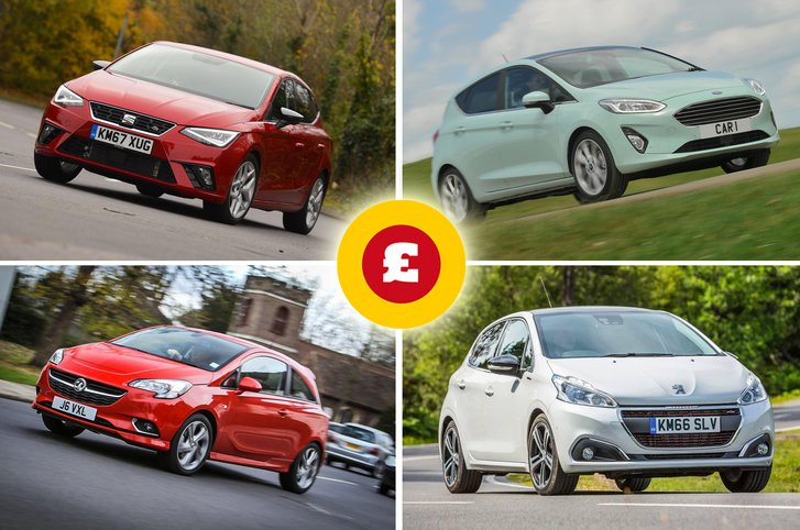 Seat Ibiza, Vauxhall Corsa, Ford Fiesta, Peugeot 208