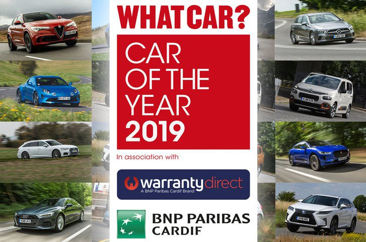 What Car? Car of the Year 2019 short list