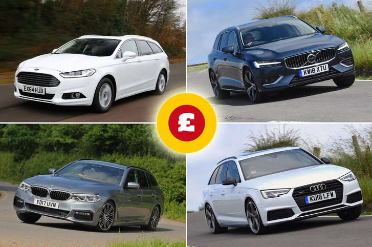 Ford Mondeo Estate, Volvo V60, BMW 5 Series Touring, Audi A4 Avant